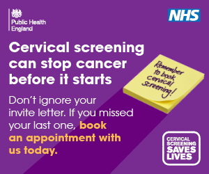 Remember to book your cervical screening
